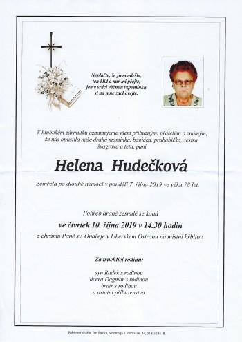 Hudeckova Helena